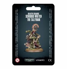 Death Guard Scribbus Malheureux le Maître de trappe Games Workshop Warhammer