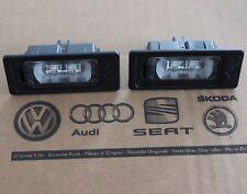 original VW LED Kennzeichenleuchten 2 Stk 3AF943021A neu Kennzeichenbeleuchtung