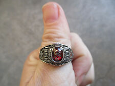 1999 Southern Alamance High School class ring confederate cross christian 10