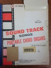 Martinelli: piste sonore chansons pour Portable CHORD organes: musique
