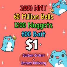 Animal Crossing Bell, Tickets, Bait, and Nuggets!
