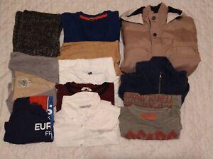 Lot de vêtements garçon 10-12 ans (Mexx, Timberland, Zara, Quechua, H&M)