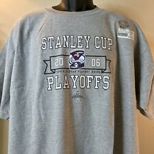 Colorado Avalanche NHL Hockey 2006 Stanley Cup Playoffs T-Shirt Size 2X Grey New