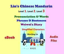 Chinese Mandarin - From Hanyu Pinyin to Reading -3 Ebooks-Simplified Character