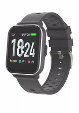 Denver SW-163 Smartwatch Uhr Handgelenkuhr Fitnessuhr Bluetooth Schwarz Brandneu