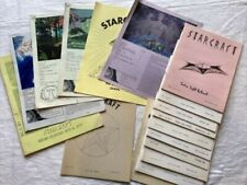 Vintage New 17 issues STARCRAFT Magazines, UFOlogy, Metaphysical, Pulp, Occult!