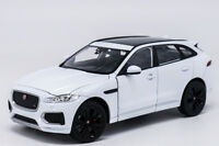 Welly 1:24 Jaguar F-Pace Diecast Model Sports Racing Car Toy White NEW IN BOX