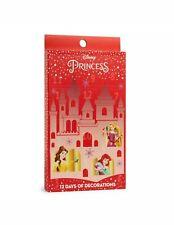 Disney Princess Advent Calendar 12 Days Christmas X-Mas Decoration Primark