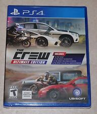The Crew Ultimate Edition - PlayStation 4 - Brand New & Sealed !!