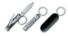 Victorinox 8.2055.C Nail Clipper with a Ring for Key Chain, stainless steel