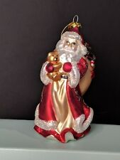 PartyLite Father Christmas Ornament (P7631) With Box