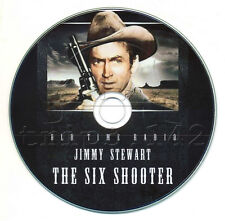 The SIX SHOOTER - Old Time Radio Western (OTR) Jimmy Stewart (mp3 CD)