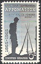 USA 1965 guerre civile américaine/Appomattox/soldats/BATAILLE/militaire 1 V (n42832)