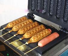 220V Hot Dog Machine French Fenma stick machine Six spaces crispy machine YN