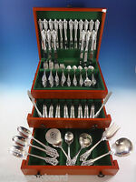 Grande Baroque by Wallace Sterling Silver Flatware For 18 Set 116 Pieces