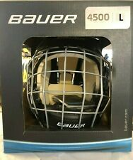 Bauer 4500 Hockey Helmet Combo with Profile II Cage! Black SR Adult Large