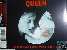 QUEEN TOO MUCH LOVE WILL KILL YOU UK MAXI CD pict. disc