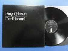 KING CRIMSON  EARTHBOUND Island 72 A-1UB-1U UK 1st pr LP EX-/VG++