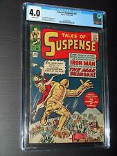 TALES OF SUSPENSE #44 (1963 MARVEL) CGC 4.0 EARLY GOLD IRON MAN APPEARANCE!