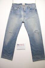 Levi's 501 1947 'S Rivets Jeans D'Occassion (Cod.m1103) Taille 50 W36 L36