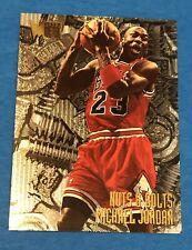 Michael Jordan 1995-96 Fleer Metal Nuts & Bolts Insert Card #212 Bulls HOF NM