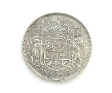 1948 George VI 50 Cents CAN • Grade F-12
