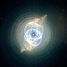 CATS EYE NEBULA, NASA Hubble Telescope Deep Space CANVAS PRINT 24x24 in.
