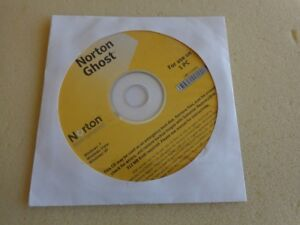 New Sealed: Norton Ghost 15.0 Full Version: 1 PC; for Windows 7 or Older OS