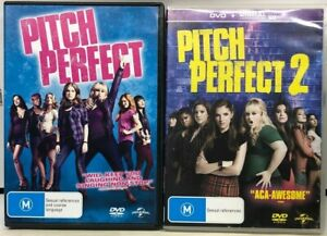 Pitch Perfect 1 & 2 - 2 DVD Pack - AusPost with Tracking