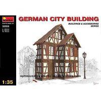 Miniart 35506 - 1/35 Plastic Model Building German City WW II Plastic Model Kit