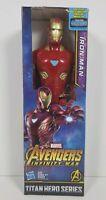 Marvel Avengers Infinity War Titan Hero Series Iron Man 12-inch Figure - NEW