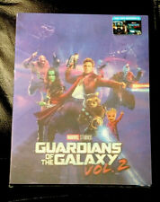 GUARDIANS OF THE GALAXY VOL 2 (2D-3D)BLU-RAY STEELBOOK FILMARENA LENTICULAR.