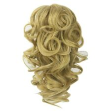 Claw Thick Wavy Curly Pony Tail Long Layered Ponytail Clip in Hair Extensions