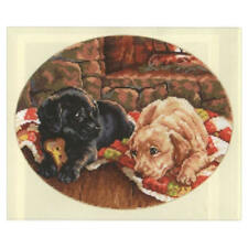 Alisa Cross Stitch Kit-Sleepy perros