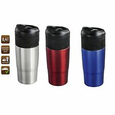 Insulated Thermal Travel Coffee Mug Flask Cup Removable Lid Keep Drink Warm HQ