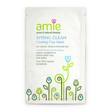 AMIE Pure & Natural Beauty Spring Clean Cooling Clay Face Mask French/White/NEW