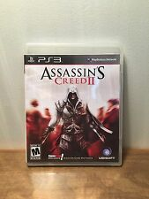 Assassin's Creed II (Sony PlayStation 3, 2009) PS3, Complete