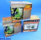 STOR Disney Yoda Star Wars / Taza / Taza de porcelana en Regalo Set/3 piezas