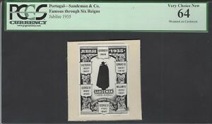 Portugal - Sandeman & Co Famous through Six Reigns Jubilee 1935 Photograph Proof