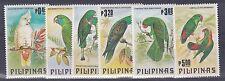 PHILIPINES  1984  BIRD SET OF PARROTS    M /  N / H