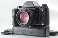 """""""NEAR MINT"""" Pentax LX Late Model w/ A 50mm f/1.4 + Grip + Winder From JAPAN #652"""