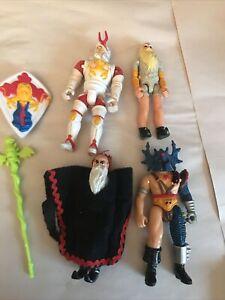 1983 LJN Dungeons & Dragons - Lot of 4 figures