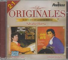 Salvador Huerta CD NEW 2 En 1 LOS ORIGINALES Peerless SEALED