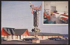 Postcard ST ANNE De BEAUPRE Quebec/CANADA  Zenith Motel Motor Court 1950's