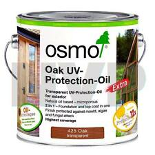 Osmo UV Protection Oil Extra 425C Oak Semi-Matt 750ml - For Exterior Wood
