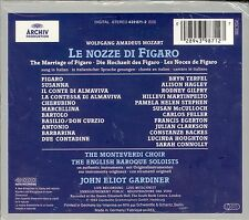 MOZART Le Nozze Di Figaro CD box set NEW John Eliot Gardiner Bryn Terfel
