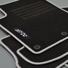 MP Velours Fußmatten Edition silber für Peugeot 207 CC 207CC ab Bj.02/2007 -
