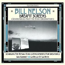 BILL NELSON - DREAMY SCREENS SOUNDTRACK FROM THE ECHO OBSERVATORY 3 CD NEU