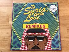 Omar Souleyman To Syria,With Love Remixes RSD 2018 Limited Release Colored Vinyl