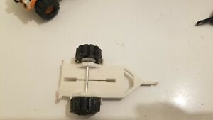 Schaper Stomper Motorcycle Trailers white 3D printed STOMPER NOT INCLUDED